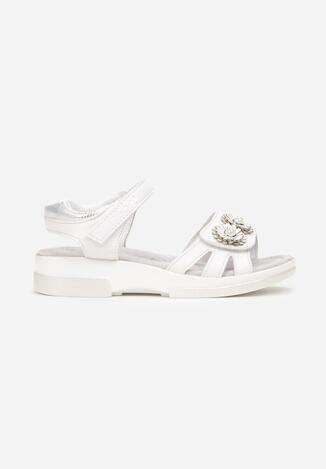 Białe Sandały Katheilise