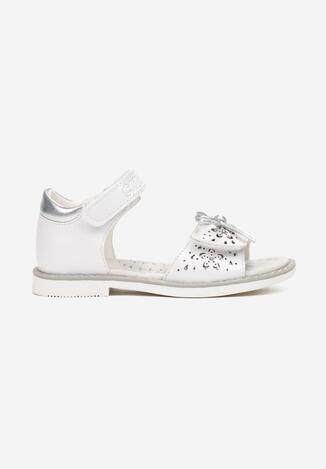 Białe Sandały Lichaestus