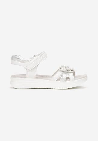 Białe Sandały Acastios