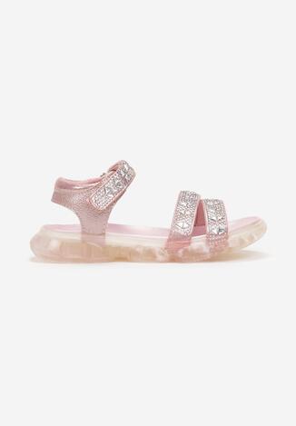 Różowe Sandały Idaphishae