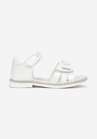 Białe Sandały Salmathis