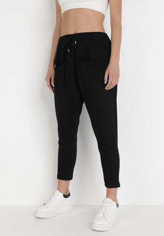 Czarne Spodnie Dresowe Anthithoe