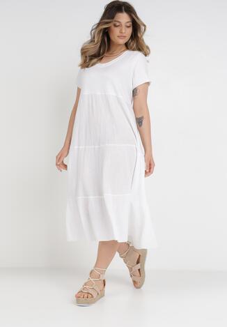 Biała Sukienka Ohirvile