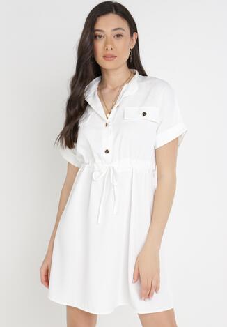 Biała Sukienka Astrephine