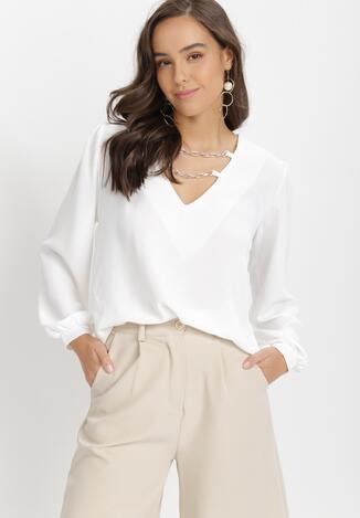 Biała Bluzka Azerarax