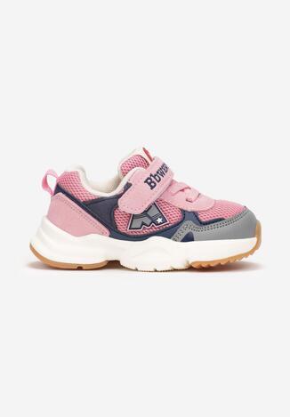Różowe Buty Sportowe Anstiss