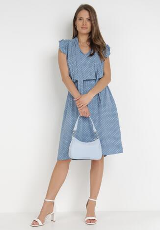 Niebieska Sukienka Orthrose
