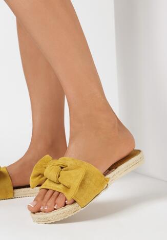 Żółte Klapki Ryzynir