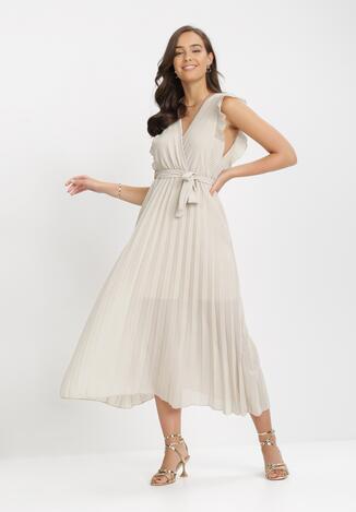 Beżowa Sukienka Tryxnessa