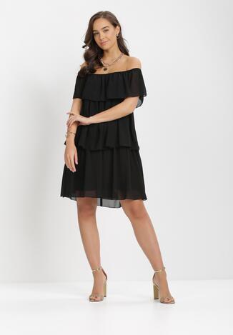 Czarna Sukienka Najath
