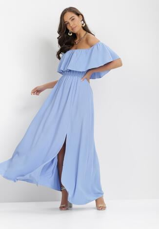 Niebieska Sukienka Iarlax