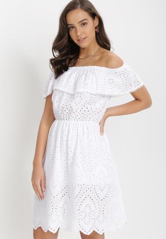 Biała Sukienka Azertihr