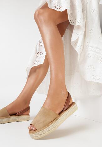 Beżowe Sandały Evinope