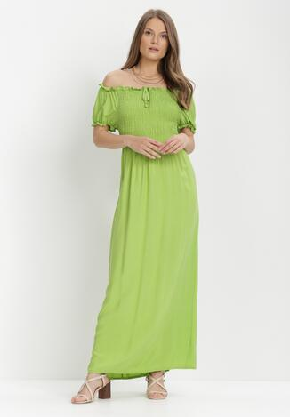 Jasnozielona Sukienka Jilaith