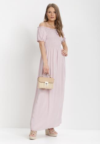 Jasnoróżowa Sukienka Jilaith