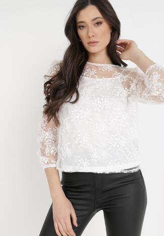 Biała Bluzka Jaenrya