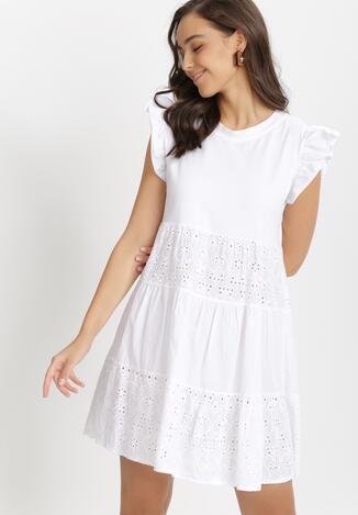 Biała Sukienka Physagoria