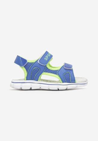 Niebiesko-Zielone Sandały Deucoebus