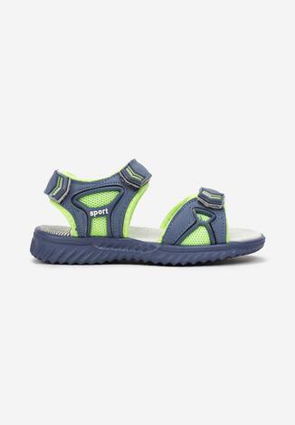 Niebieskie Sandały Zanisia