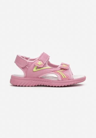 Różowe Sandały Deuconis
