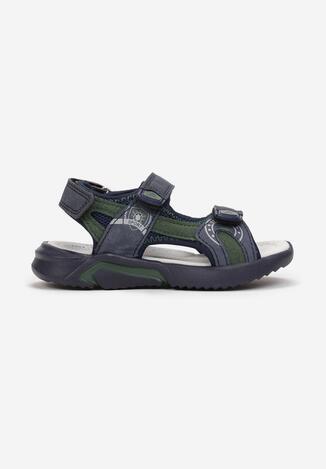 Niebiesko-Zielone Sandały Kimothusa