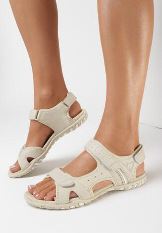 Beżowe Sandały Dathophe