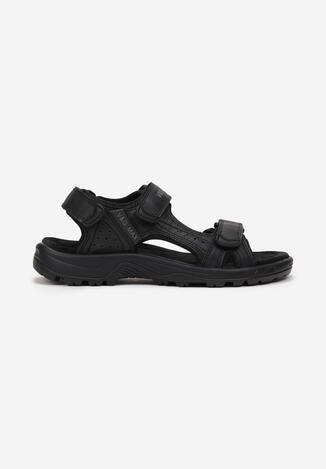 Czarne Sandały Nungorrush