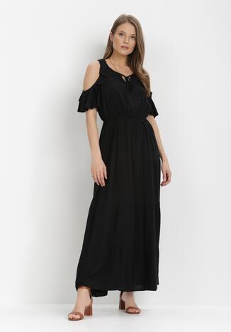 Czarna Sukienka Tharasixi