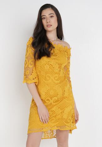 Żółta Sukienka Ristyrtus