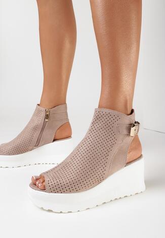 Beżowe Sandały Loraeleh