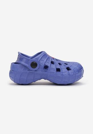 Niebieskie Klapki Katane