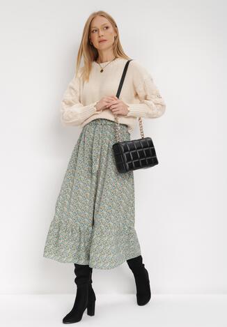 Miętowa Spódnica Deloras