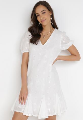Biała Sukienka Nepherope