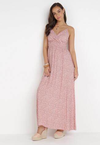 Łososiowa Sukienka Parreino