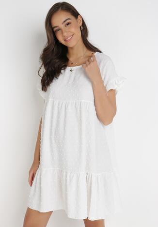 Biała Sukienka Anicea