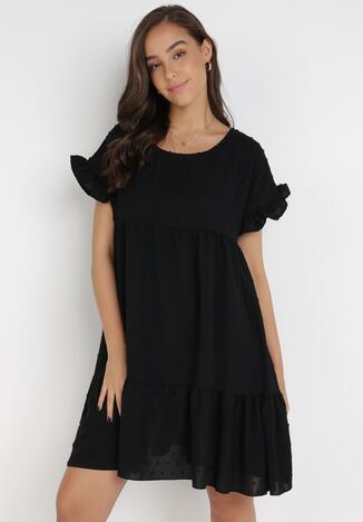 Czarna Sukienka Anicea