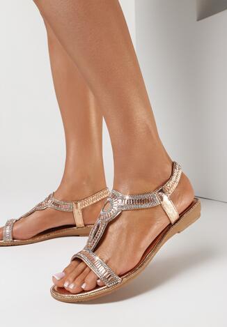 Szampańskie Sandały Aroadoe
