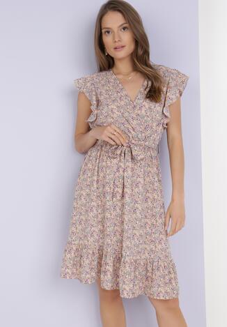 Jasnoróżowa Sukienka Geneve