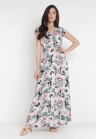 Różowa Sukienka Poreilira