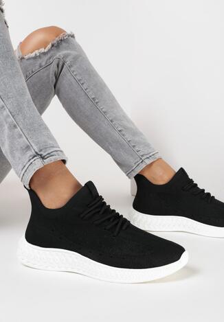 Czarne Buty Sportowe Echorinia