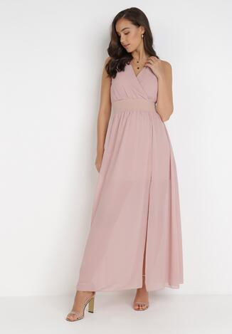 Różowa Sukienka Corarena