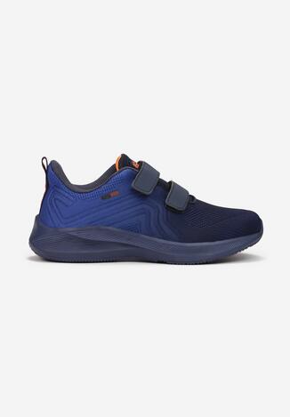 Granatowo-Niebieskie Buty Sportowe Qyrysh