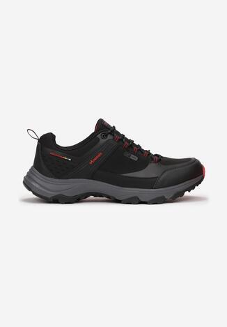 Czarno-Czerwone Buty Sportowe Ginorney