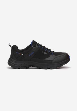 Czarno-Niebieskie Buty Sportowe Ginorney