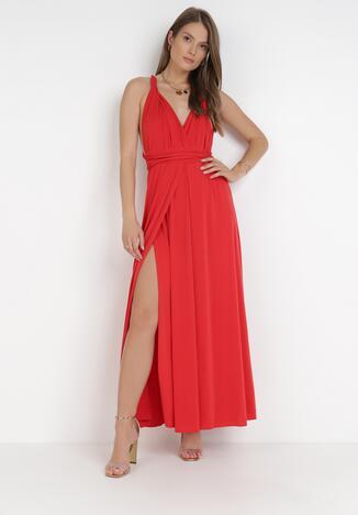 Czerwona Sukienka Adratai