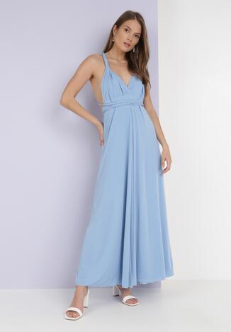 Jasnoniebieska Sukienka Adratai