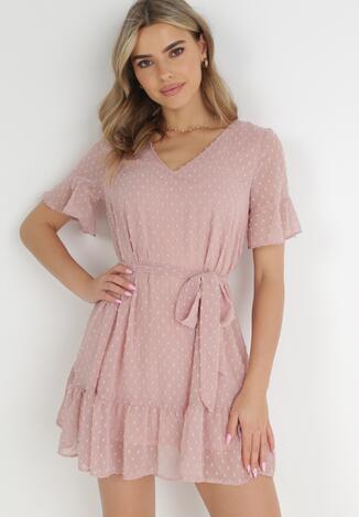 Różowa Sukienka Acalopei