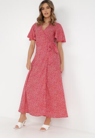 Czerwona Sukienka Theminophe