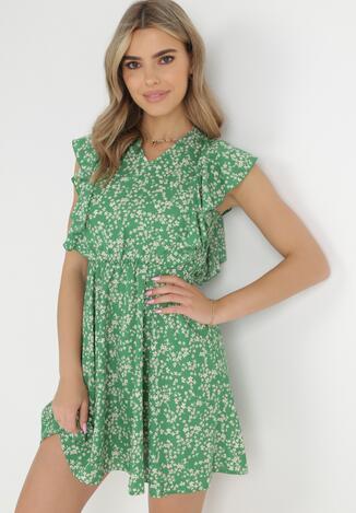 Zielona Sukienka Astepheme