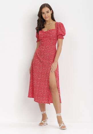 Czerwona Sukienka Aquineva
